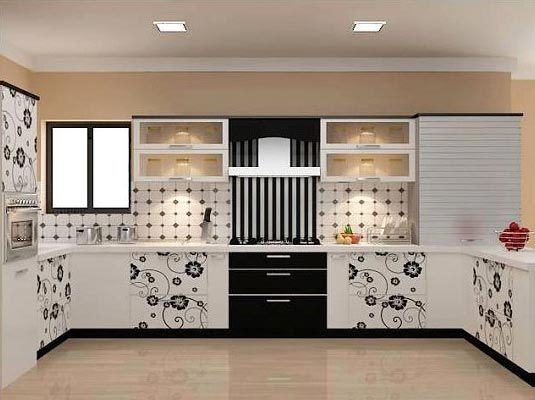 Interior design for small indian kitchen google search for Small kitchen interior designs india