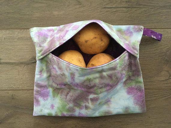 Baked Potato Bag, Microwave baked potato pouch, potato sack, microwave bag, microwave steaming bag, tater cooker, tater bag, spud sack, bag