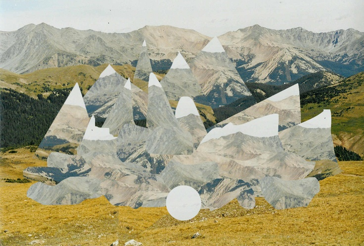 Mountain collage: Collage Ideas, Mountain Collage, Collage Montages