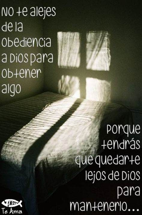 No te alejes de Dios facebook.com/jesusteamamgaministries