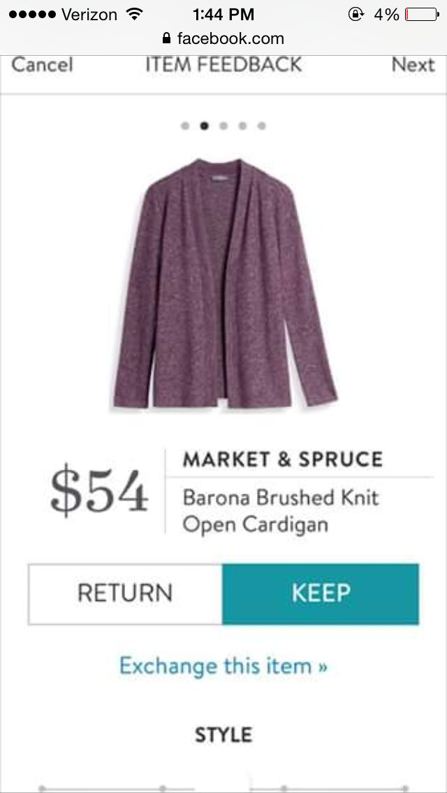 I love open cardigans - this would be a fun color to wear ::)