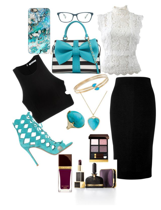 """""""💋"""" by artisans ❤ liked on Polyvore featuring Casetify, Oscar de la Renta, Betsey Johnson, Corinne McCormack, Victoria Beckham, Gianvito Rossi, T By Alexander Wang, Ross-Simons, Jennifer Meyer Jewelry and Ippolita"""
