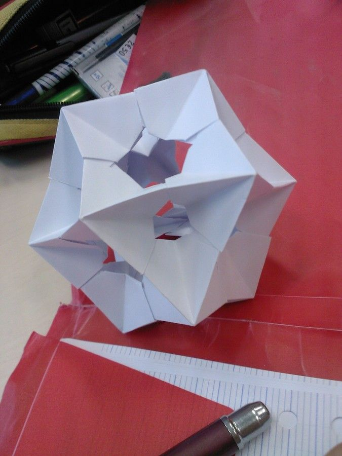 Origami modulaire