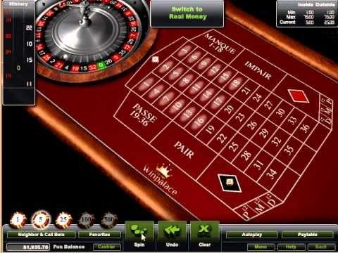 winpalace roulette