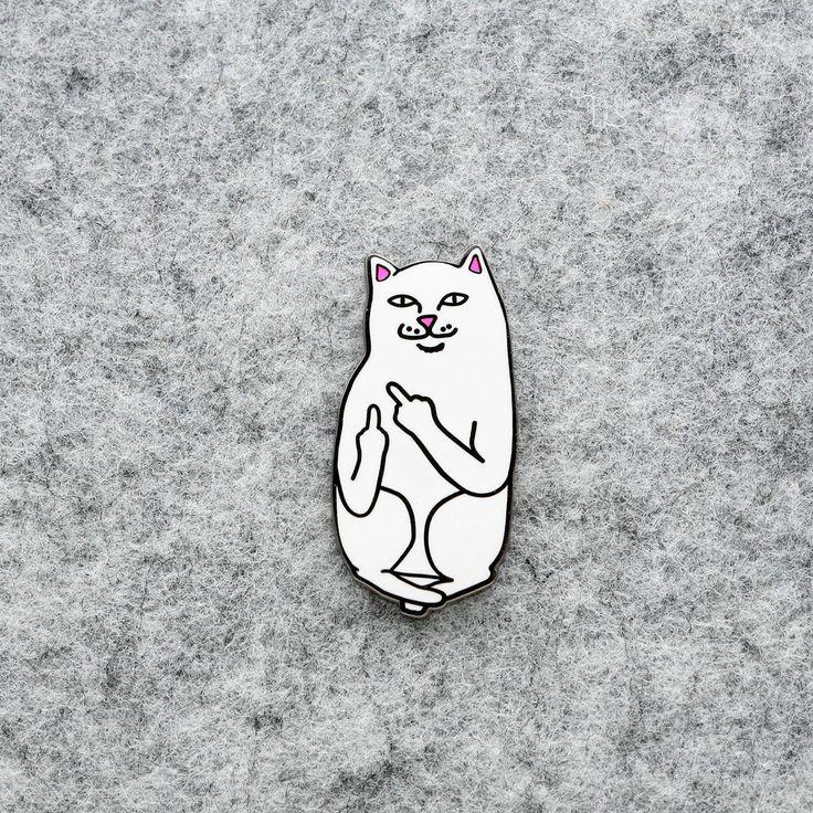 Cat Enamel Pin Lapel Pin