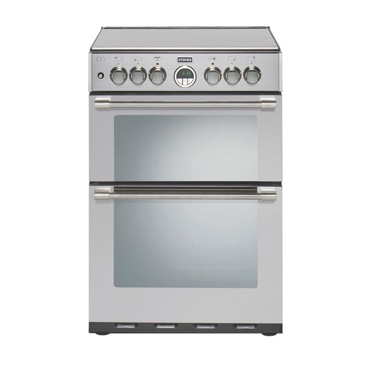 Stoves Sterling 600DF Stainless Steel Dual Fuel Mini Range Cooker