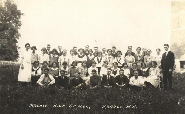 Argyle High School, Argyle, New York Class Photo