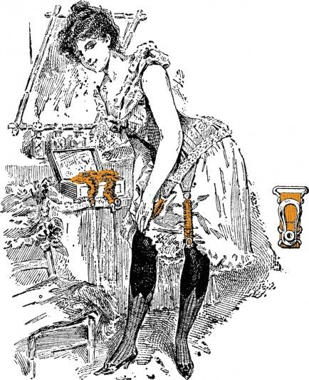 wedding garter history - advice on bridal garters from The Garter Girl