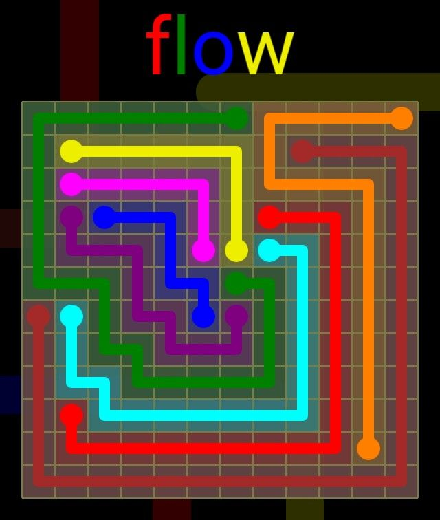 Flow Extreme Pack 2 - 12x12 - level 17 solution