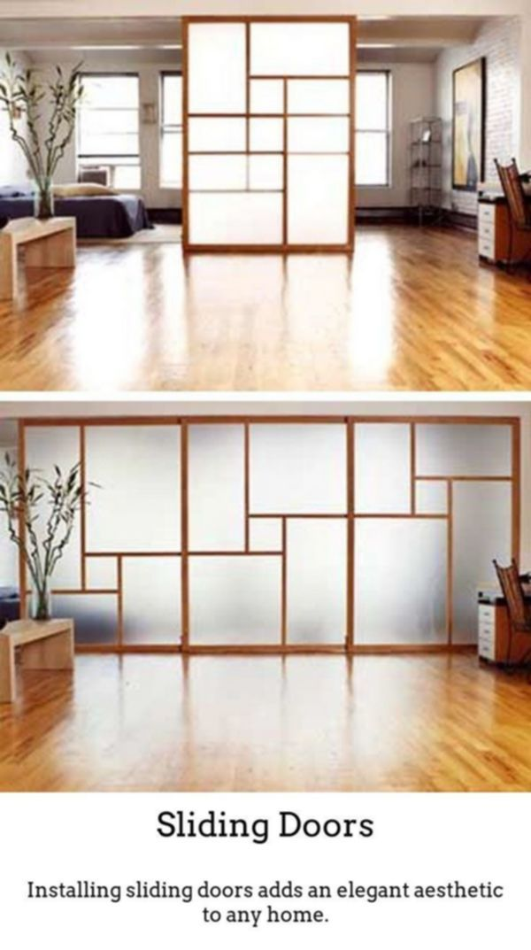 Sliding Doors Produce Trendy Bright Noticeable Room Designs By Using Thermally Insulated Gl Sliding Door Room Dividers Room Divider Walls Room Divider Doors