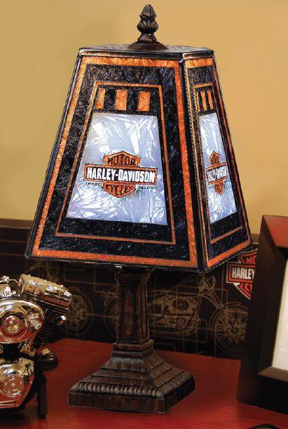 Harley-Davidson® Art Glass Long B&S 14 ....I'll take two