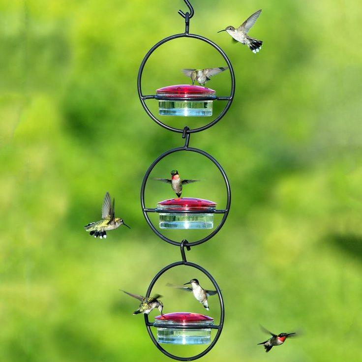Mosaic Hummingbird Feeder Glass hummingbird feeders