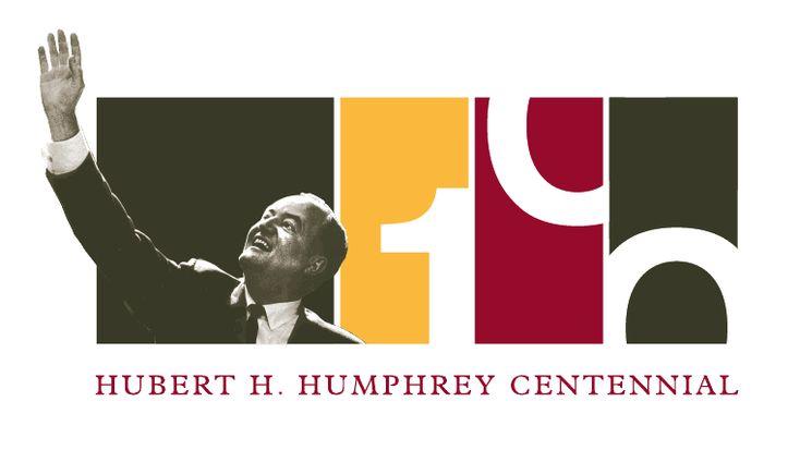 100th Anniversary for Humphrey Centennial Logo