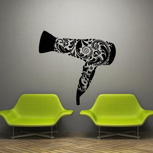 Wall decal decor decals sticker art hair salon by DecorWallDecals, $28.99