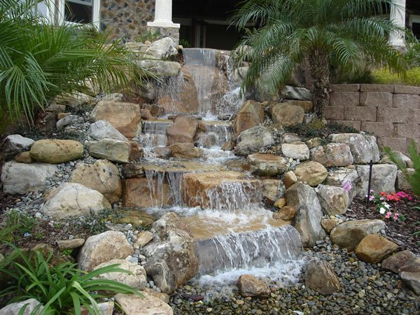 American Pondless Waterfall Kit. Backyard WaterfallsBackyard PondsGarden ...