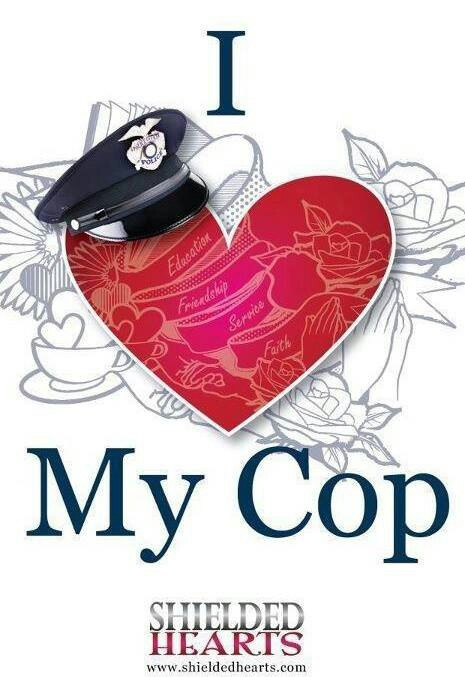 I Love My Cop! Great idea for #valentinesday