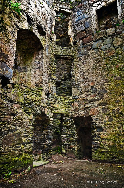 Castle Tioram sits on the tidal island Eilean Tioram in Loch Moidart, Lochaber, Highland, Scotland.