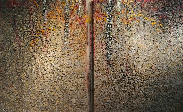 Huge new diptych I am currently working on at the David Joyce Studio.