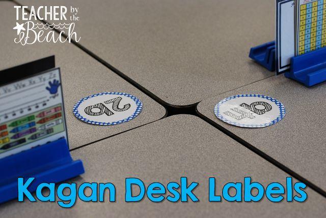 Kagan Desk Labels {Freebies}