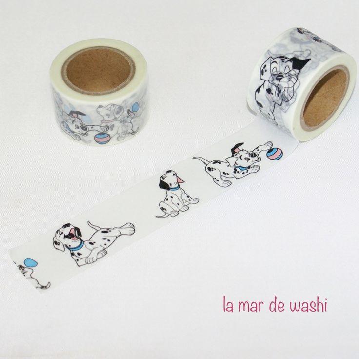Washi Tape dálmatas                                                                                                                                                      More