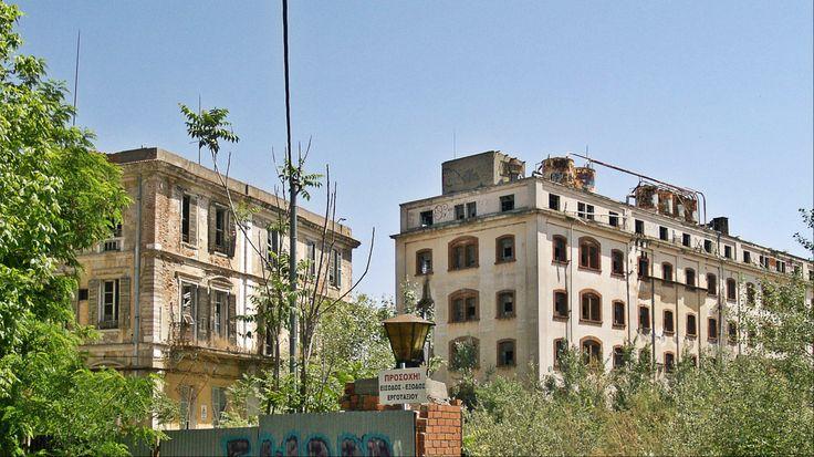The old Allatini flour mills. (Walking Thessaloniki - Route 17, Depot)