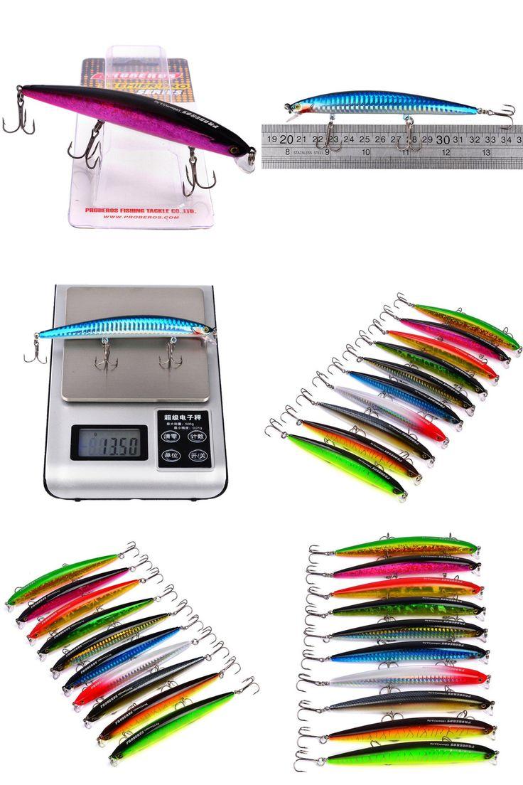 [Visit to Buy] 1 PCS Ropa De Pesca Fishing Lure Minnow Lures Crankbait 13.5g-0.48oz/12.5cm-4.92 #Advertisement