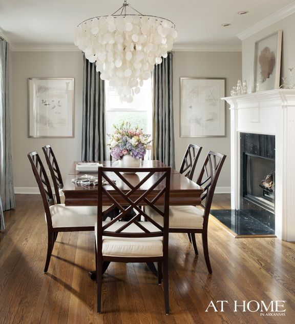 : Wall Colors, Dining Rooms, Chandelier, At Home, Lights Fixtures, Paintings Colors, Interiors Design, Arkansas, Paintings Colour