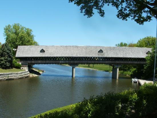 Covered Bridge, Frankenmuth, MI