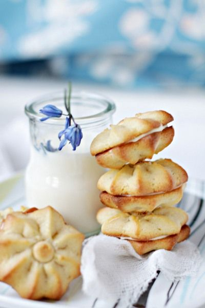 La Pâtissière - Страссбургское печенье (Strassburger cookes) - и классическое мягкое тесто для печенья