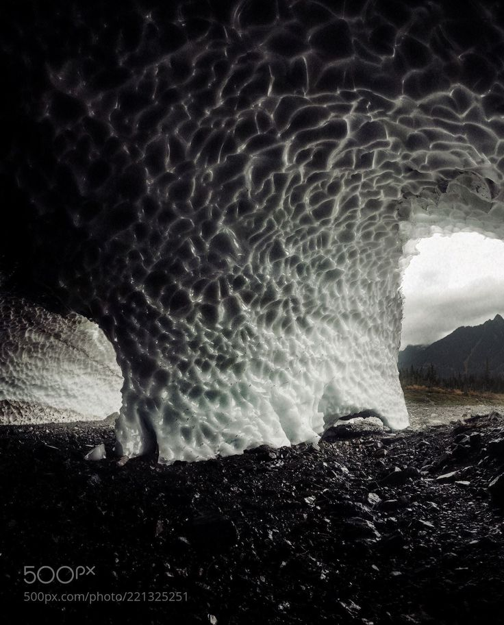 big four ice caves. washington. (Tanner Wendell Stewart / Seattle / United States) #nikon D300S #landscape #photo #nature
