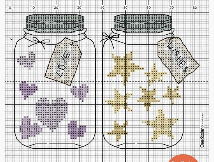 Mason Jars -- Love and Wishes