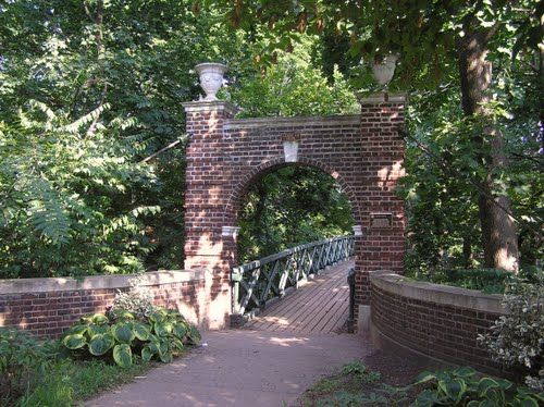 Douglass College (Rutgers), New Brunswick, New Jersey - Ravine Bridge