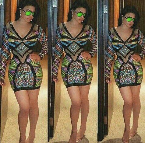 Colorfull dress .. haifa .. stylish