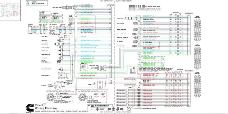 Diagrama De Cableado De Cummins N14 Celect Y Esquema Con Plus