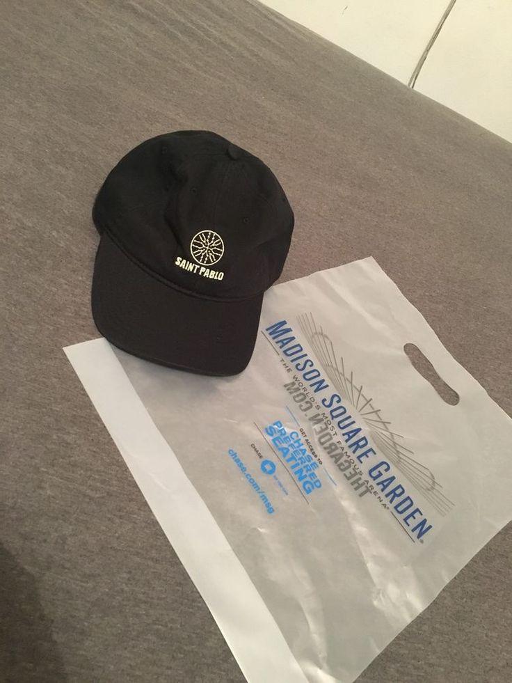 Kanye West Saint Pablo 2016 Tour Merch Exclusive Black Hat | eBay