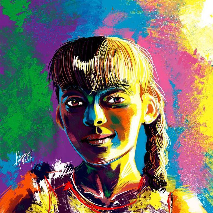 Faces colors