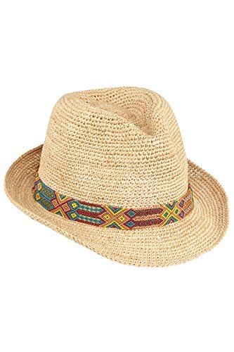 """Raffia fedora with multi-color handwoven band.       Famous Words of Inspiration...""""Let us be of good cheer, remembering that the misfortunes hardest to bear are those that never happen.""""   James Russel Lowell — Click here for more from..."""