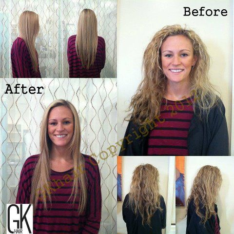 gk hair taming system instructions