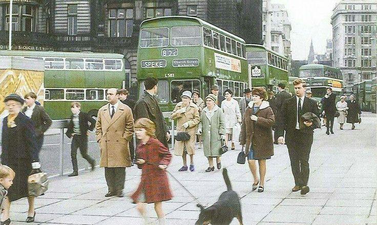 1965 Pier Head, Liverpool.