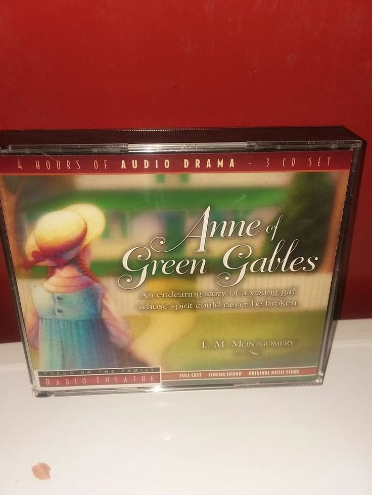 Anne of Green Gables 3 CD Audio Set Focus On The Family  Radio Theatre 4 Hours #TyndaleEntertainment