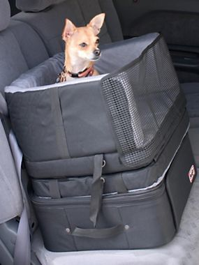 3-in-1 Car Seat gives small dogs a boost in car travel | Solutions