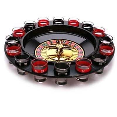 Juego Chupitos Ruleta Drinking Roulette Set incluye 17 vasitos de chupitos H4510111