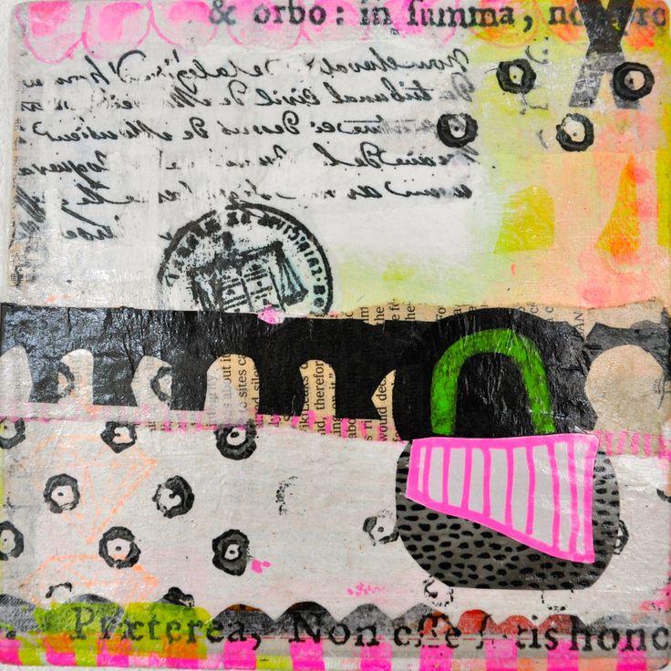 Collage 15 x 15 cm