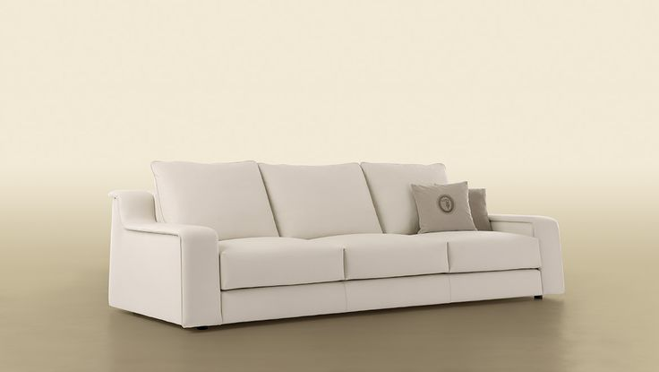 914 Couch by Trussardi Casa | A minimal chic taste that describes this 914 sofa, perfect for fit in a modern living room | more inspiring images at www.diningandlivingroom.com