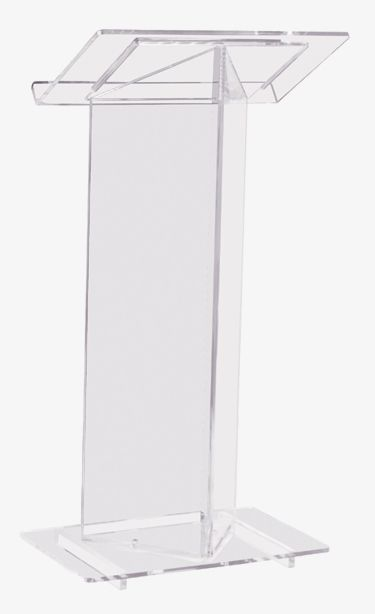Cheap beautiful transparent Acrylic Podium Pulpit Lectern plastic podium
