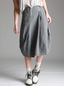TENCEL falda globo