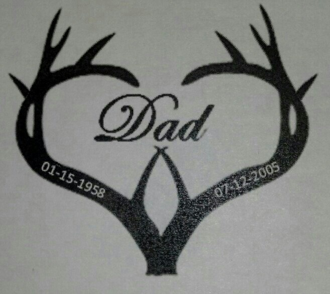 The tattoo I want to get in remembrance of my dad