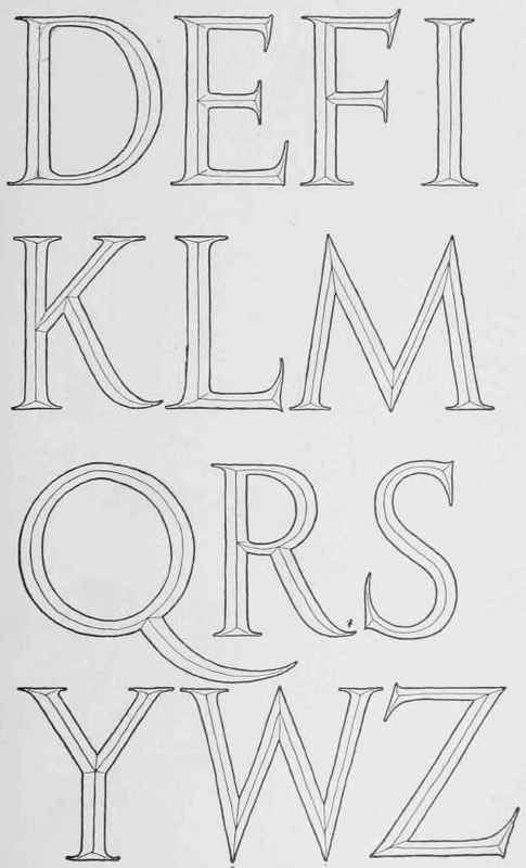 Classic Roman Letters