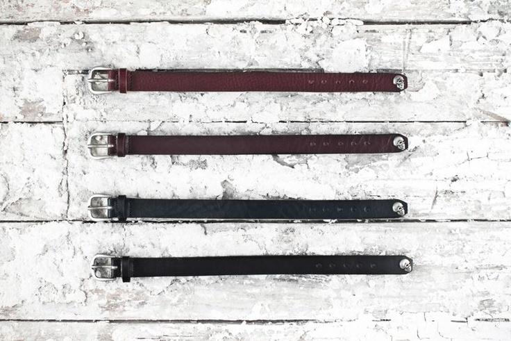 #Skull #Bracelets The #RUGGED #Collection #AdrianoMeneghetti #greenwhiteredbrand