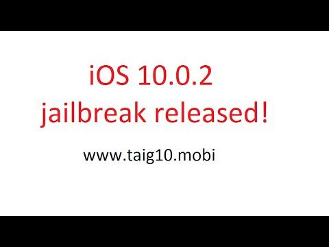 iOS 10.0.2 Jailbreak Tutorial. Get Jailbroken on iOS 10.x.x NOW!